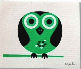 Modern Owl Swedish Dishcloth from Trendy Tripper