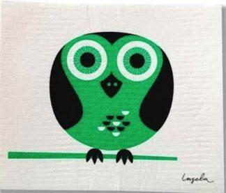 Modern Owl Swedish Dishcloth from Trendy Tripper