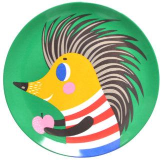 Helen Dardik Hedgehog Plate